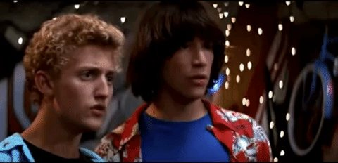 'Bill & Ted' stars Keanu Reeves and Alex Winter share their memories of George Carlin