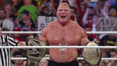 Happy birthday to my client. The next wwe champion BROCK LESNAR.