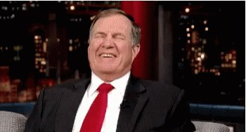 Happy belated birthday to Bill Belichick!  He has to be a programmed robot