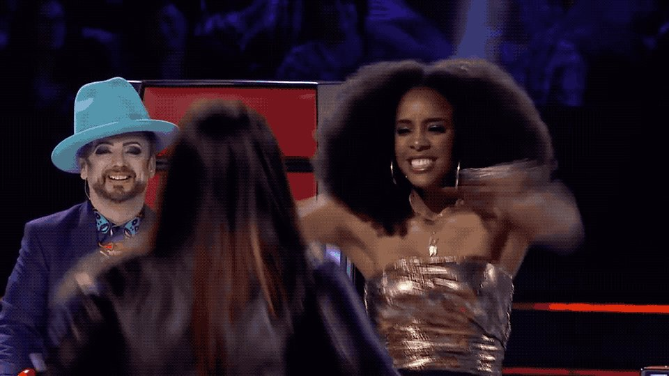 I LOOOVE this girl. So excited to make Erin the first member of #TeamKelly #TheVoiceAU https://t.co/OGgiehORbK