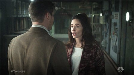 This isn't awkward. ???? #TImeless https://t.co/AefGkx5Hic