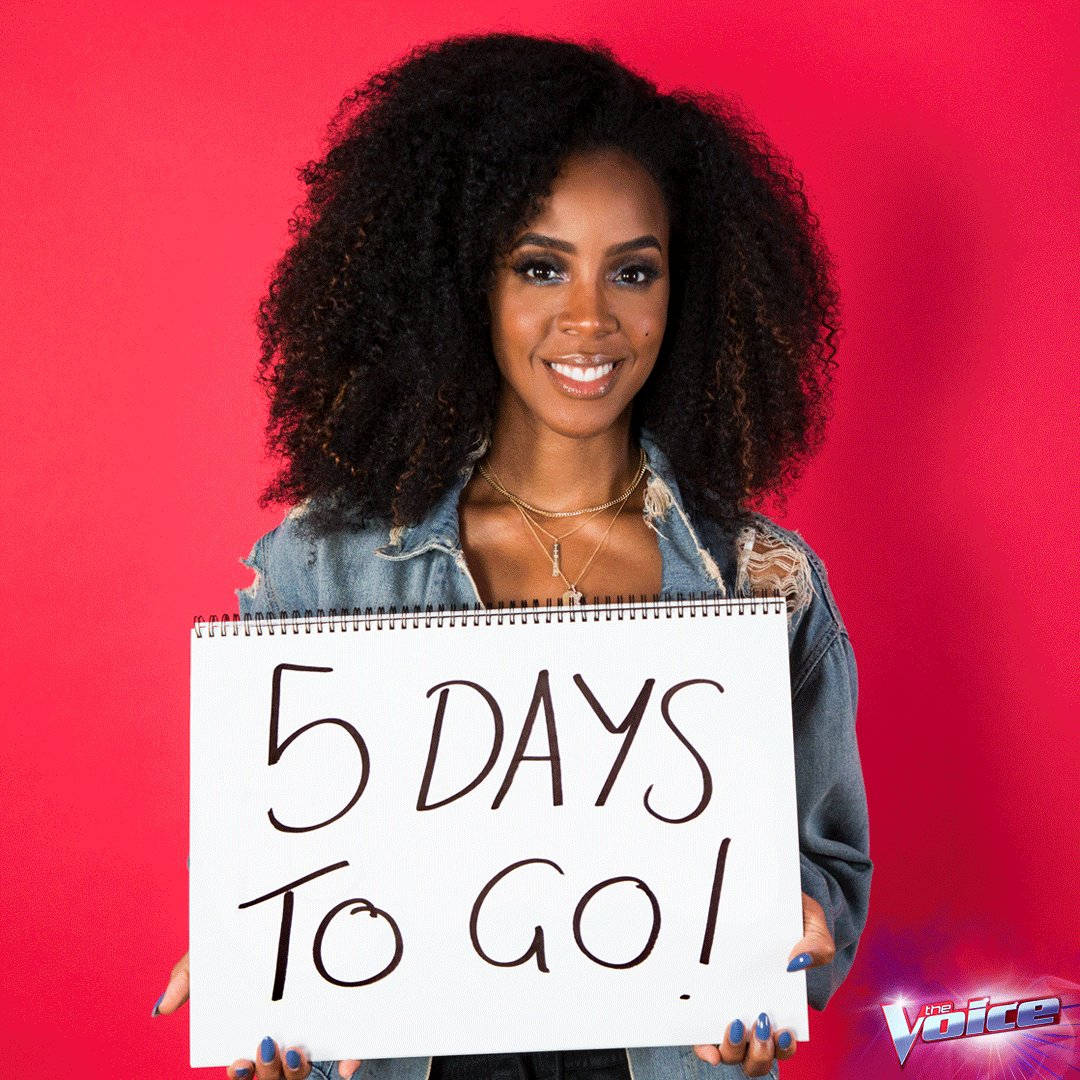 RT @TheVoiceAU: @KellyRowland is ready, are YOU? ⏳ The Blinds, Sunday 7.00 on @Channel9 https://t.co/Vh9lozn3ab