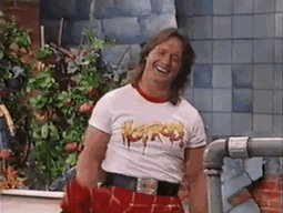 "Happy Birthday to the late, great ""Rowdy\"" Roddy Piper."