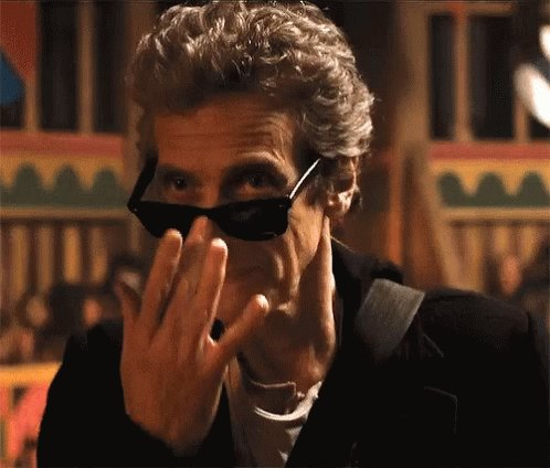 A very happy birthday to the fabulous Peter Capaldi... from all