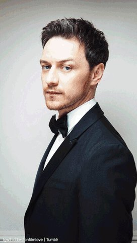 Happy birthday, James McAvoy!