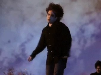 Happy birthday Robert Smith, thank you for continuing live another year