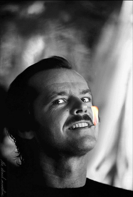 Happy birthday Jack Nicholson.  (via