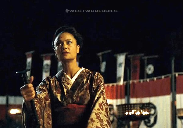 RT @WestworldGifs: Maeve the 4th be with you. @thandienewton #Westworld #StarWarsDay https://t.co/uaT9p4fLws