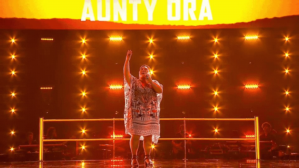YES, AUNTY!!!! That performance was pure magic. #TheVoiceAU https://t.co/hVR93fdvMf