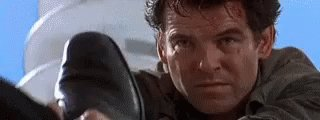 Goldeneye is the best pierce Brosnan outing as Bond and happy birthday piece brosnan