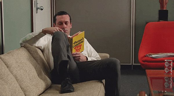 RT @MadMenQTs: Of course Draper's 1969 reading list would include #PortnoysComplaint #RIPPhilipRoth #MadMen https://t.co/mg8itXKpsf