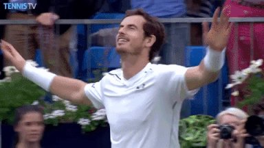 Happy 31st Birthday to Andy Murray! Here\s hoping we see him back on a tennis court very soon.