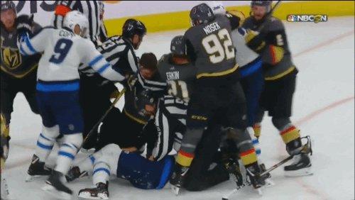Dustin Byfuglien is the NHL's  dustin byfuglien
