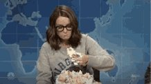 Happy birthday to a literal greek goddess who needs to be on message asap, Tina Fey!