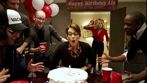 Wishing a very happy birthday to our very own Tina Fey, even if she has BROWN HAIR!