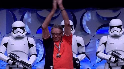Happy birthday to Peter Mayhew! Hope you ve had an amazing birthday sir!