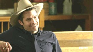 A happy 50th birthday to the incomparable Timothy Olyphant.