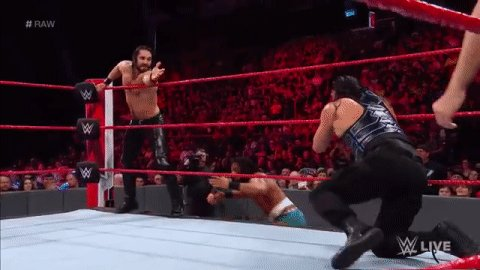 RT @WWEUniverse: Not so fast, @WWERomanReigns!  #RAW @JinderMahal https://t.co/jbc7bUV9aY