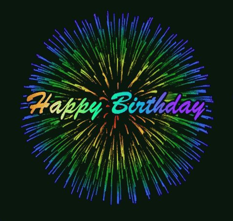 Happy Birthday !! Kisses and hugs from Colombia  !