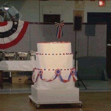 Happy Birthday! Here s your birthday cake!