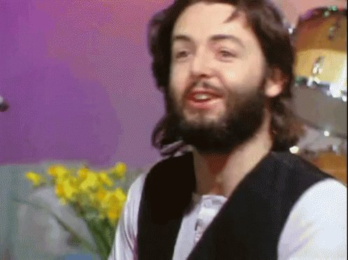 Would have Paul McCartney singing Happy Birthday!