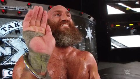 RT @WWENXT: One last 👋 from @ProjectCiampa in Chicago.  #NXTTakeOver #ChicagoStreetFight https://t.co/f0vmHjLElu
