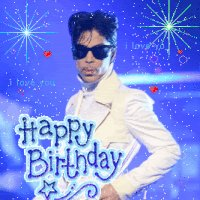 "NOTE:  Happy Birthday To Your Majesty, Legendary \""PRINCE.\"""