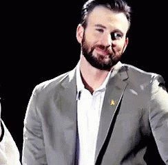 Happy birthday to my husband, Chris Evans. The most important Chris in my life