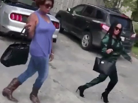 RT @fusetv: .@NICKIMINAJ and @ArianaGrande leaving the studio after they finished recording