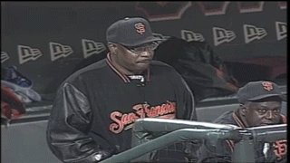 Middle of the 6th update:   Happy 69th birthday, Dusty Baker!
