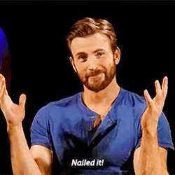 When Chris Evans wishes you happy birthday ---- masterclass lesson