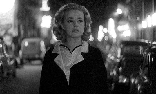 RT @distractedfilm: Jeanne Moreau.  In Louis Malle's Lift To The Scaffold... https://t.co/fiKu5PD23Z