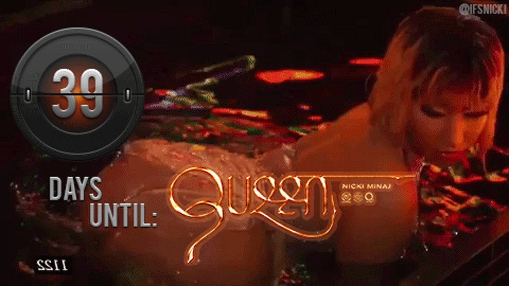 RT @ifsnicki: @NICKIMINAJ's #QUEEN DROPS IN 39 days! ???? 8.10.18  PRE-ORDER
