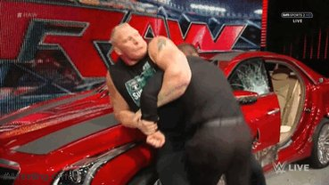 Happy Birthday to Brock Lesnar! Here s a gif of him SNAPPING Jamie Noble s arm with a key lock.
