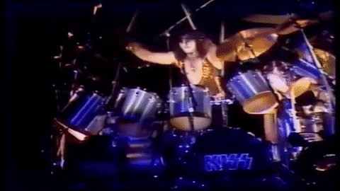 Happy Birthday to Eric Carr. Grateful to have seen you twice!