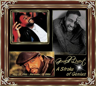Happy 52nd Birthday to the late great Gerald Levert