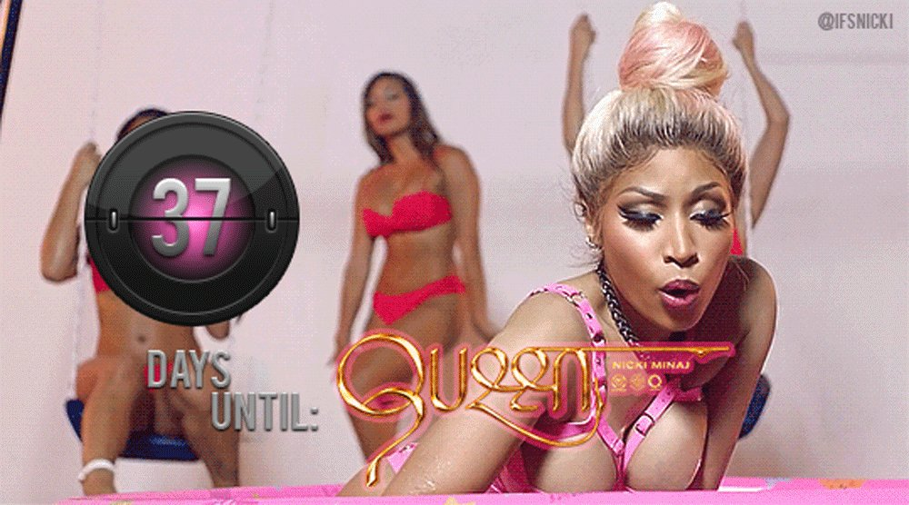 RT @ifsnicki: @NICKIMINAJ's #QUEEN DROPS IN 37 days! ???? 8.10.18  PRE-ORDER