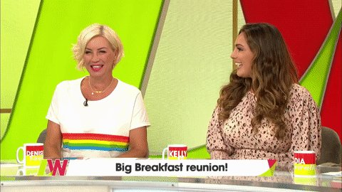 RT @loosewomen: It's a Big Breakfast reunion with @denise_vanouten & @IAMKELLYBROOK #ThrowbackThursday #90s https://t.co/ZDIYIXMAt2