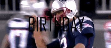 Happy birthday Tom Brady.  The QB is 41 years old today.