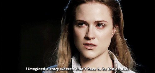 RT @Westworld_Daily: #IWillAlwaysRememberWhen The first time Dolores was not a damsel #WestWorld @evanrachelwood https://t.co/Hr5WVdjZJg