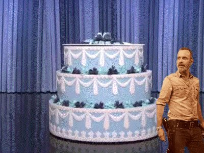 Happy Birthday, Andrew Lincoln. I want your cake.
