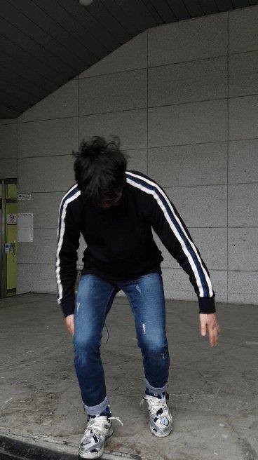 (파닥) 🐥 (머쓱)😅  #박강현 #웃는남자
