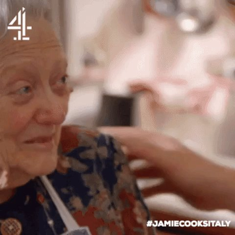 RT if Nonna Miriam has a special place in your heart… and kitchen! #JamieCooksItaly https://t.co/5Z84ZErEsU