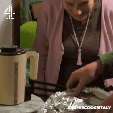 Nonna Elena approves! Do you? #JamieCooksItaly https://t.co/tuCvEyDHYl