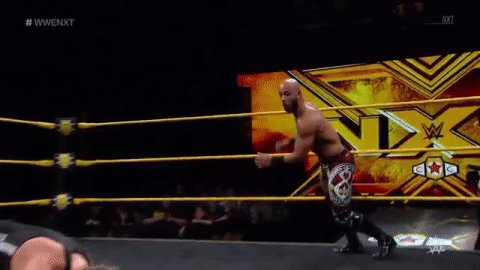 No one does it quite like @KingRicochet. #OneAndOnly #WWENXT #ChampionvsChampion https://t.co/2u7xRtpYNw
