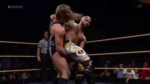 📢 #ThisIsAwesome 📢 #FightForever  This #ChampionvsChampion Match is UNREAL! @KingRicochet @PeteDunneYxB #WWENXT https://t.co/VumNl2Zy1F