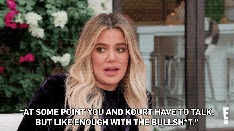 RT @KUWTK: Leave a ???? if you agree with @KhloeKardashian. #KUWTK https://t.co/7ml9k84FSo