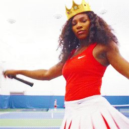 RT @strongblacklead: Today's mood. Happy birthday @serenawilliams! ???? https://t.co/MJabhjjqCv