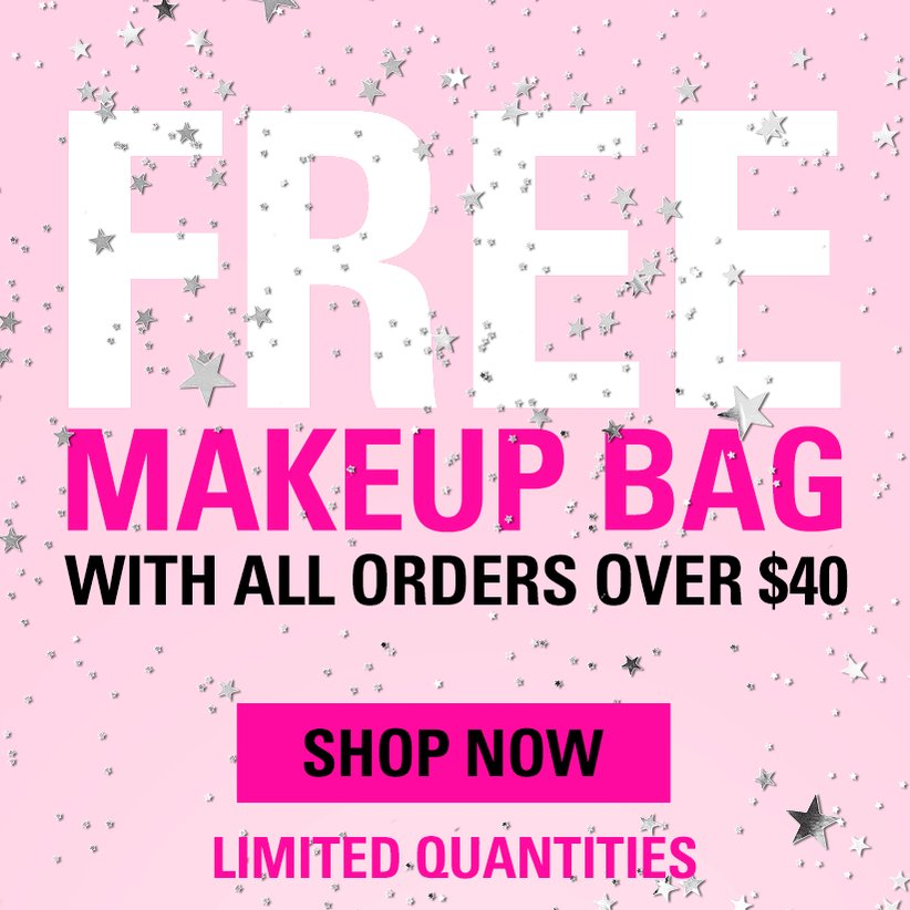 get a FREE makeup bag today at https://t.co/bDaioh0mLn ???? https://t.co/jWSsK1byHH