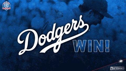 RT @Dodgers: #DodgersWIN!  FINAL: #Dodgers 5, Rockies 2 https://t.co/aMqXxk0ua0